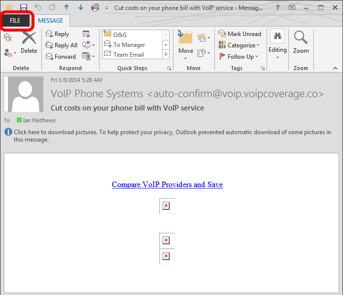 how to change email view in outlook 2007