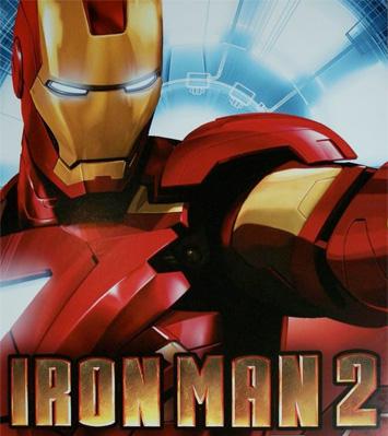 Poster de Iroman 2 aparecido en el comic-con de San Diego y que rescato de uruloki.