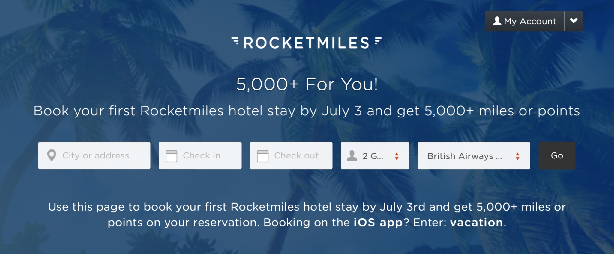 [Deal Gone]Hotels can get at least 5000 air miles
