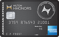 """""""100k card back,"""" Introduction to AMEX Hilton HHonors Surpass card"""