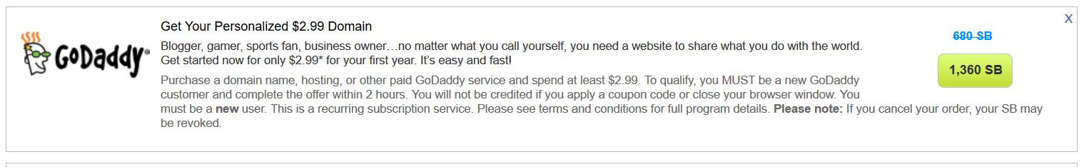 swagbucks+godaddy花http://www.uscreditcards101.com/wp-content/uploads/2016/09/2016102101143747=倒赚+一年免费域名【10/20更新:倒赚】