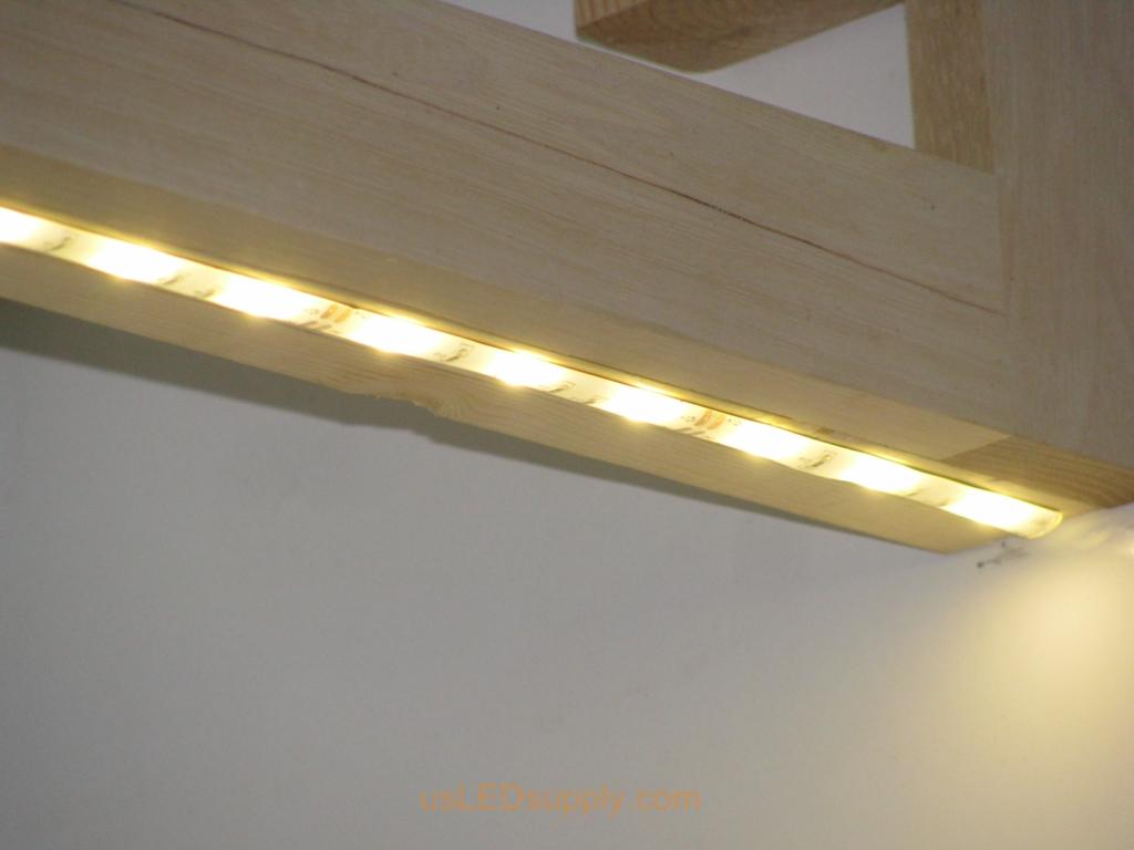 project photos undercabinet lights kitchen led lighting Undercabinet LED Lighting with a warm white flexible LED Strip