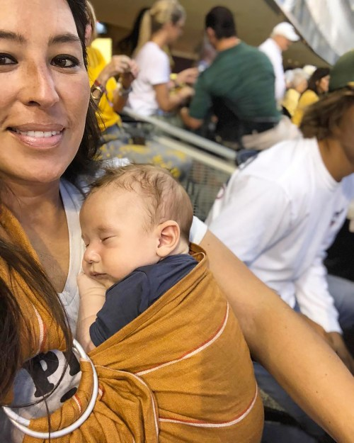Ritzy Joanna Gaines Takes Baby Crew Out His Football Pic Joanna Gaines New Baby Name Joanna Gaines Baby Boy Name