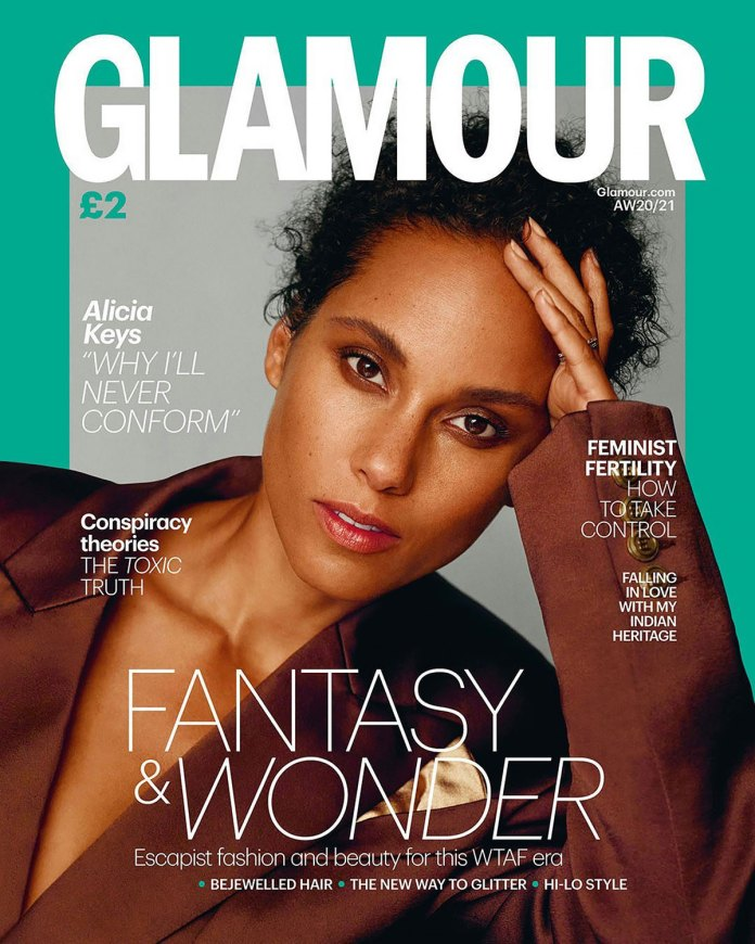 Alicia Keys on Why She Stopped Wearing Makeup: 'I Became Addicted to It'