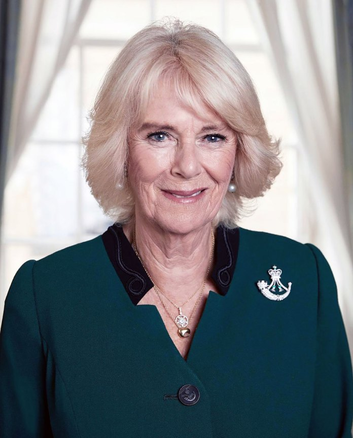 The Meaning Behind Duchess Camilla's Brooch in Her Newest Portrait