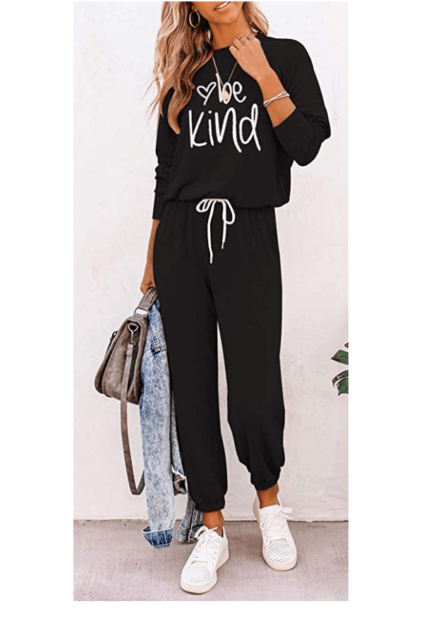 ETCYY Women's Two Piece Outfits Sweatsuit Set