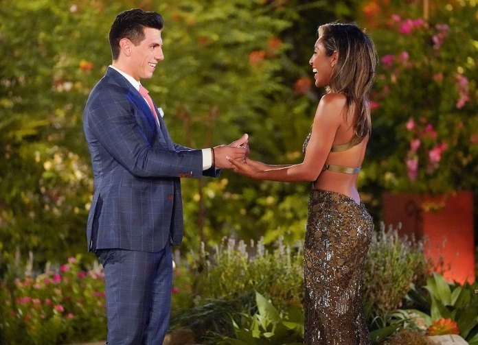 Tayshia Adams Bachelorette Contestant Peter Giannikopoulos Tests Positive for Coronavirus Then Gets Into Car Accident