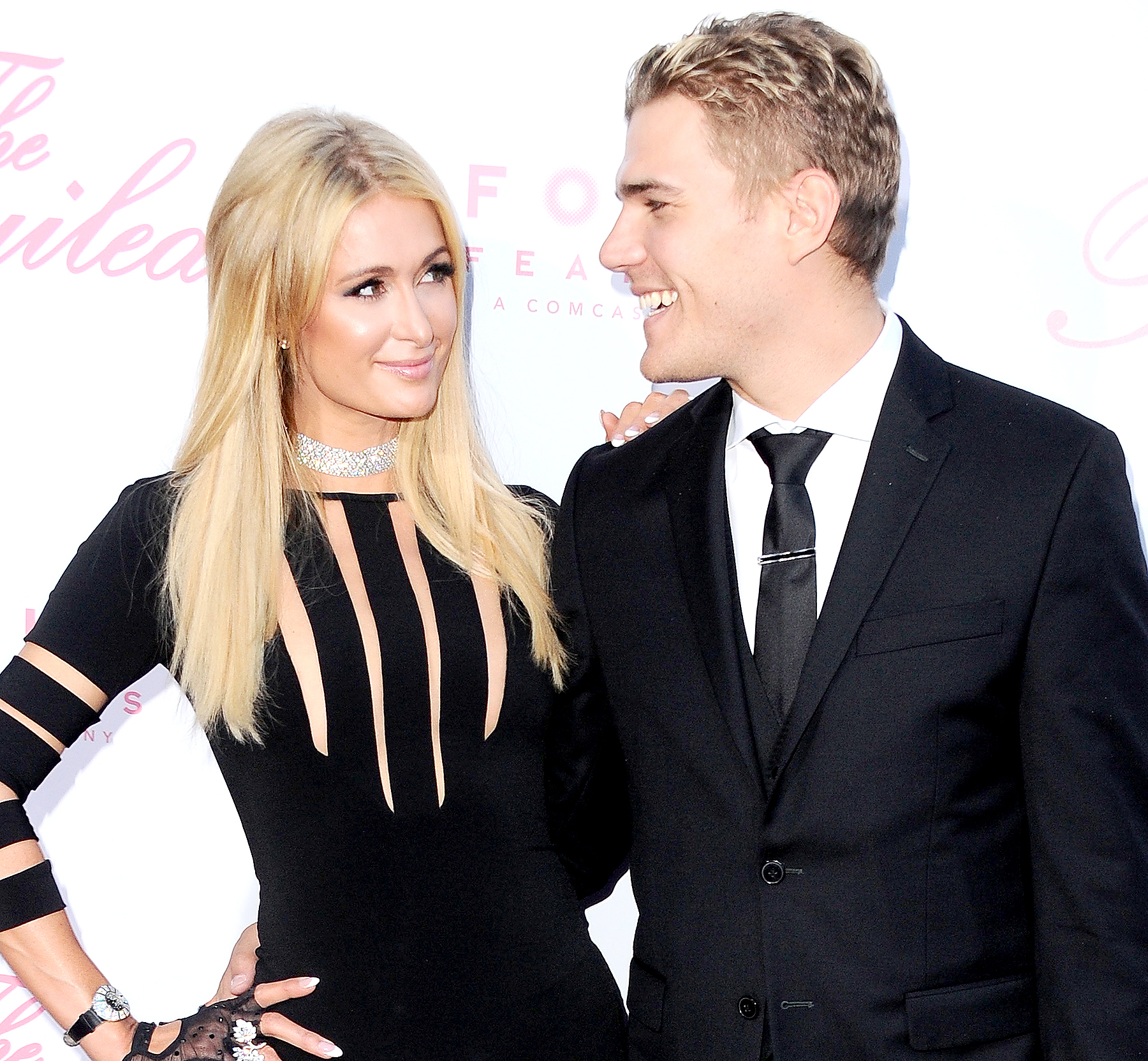 Paris Hilton's Boyfriend Surprised Her With a Paris Name Tattoo and It's So Damn Cute You Might Just Vomit