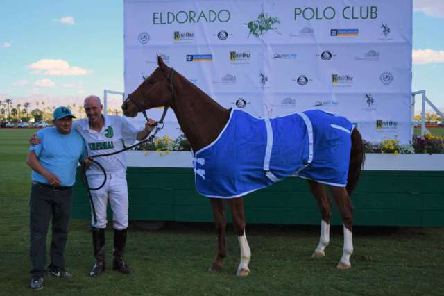 Best Playing Pony 4-Goal Carlton & Keleen Beal Cup, Lucas owned by Rodrigo Salinas.