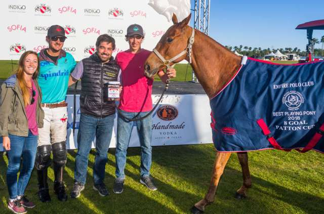 Juan Curbelo's Briza was named Best Playing Pony.