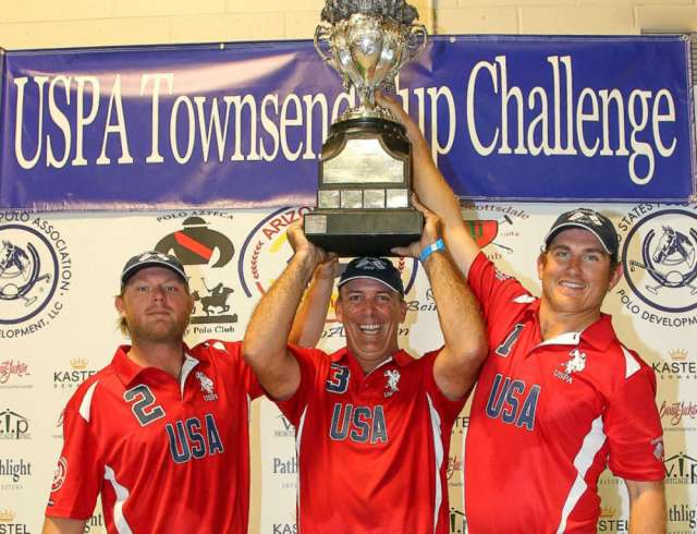 2017 Townsend Cup Champions USA (L to R) Shane Rice, Tommy Biddle, Steve Krueger.