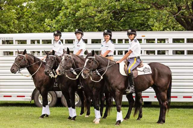 Culver Academy Mounted Color Guard