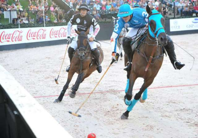 """Gladiator Polo™ will return to TIEC for a three-game series culminating with the """"Battle for the Carolinas"""" on Saturday, June 23."""