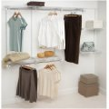 Rubbermaid Configurations 4- to 8-Foot Classic Custom Closet Kit, White