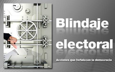 Te invitamos a conocer la página de Internet de Blindaje Electoral