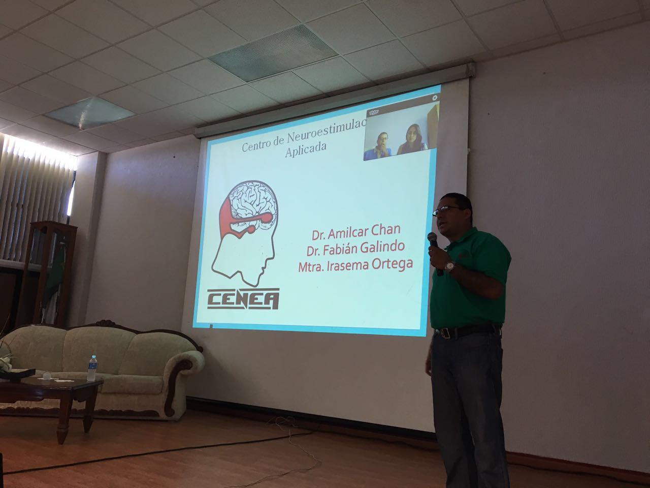 """Conferencia """"Atención a pacientes con diversos trastornos, mediante la Neuromodulación y Neurorehabilitación"""""""