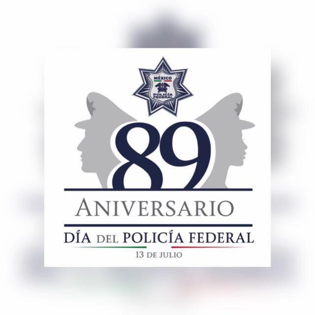 Policía Federal por el 89 Aniversario