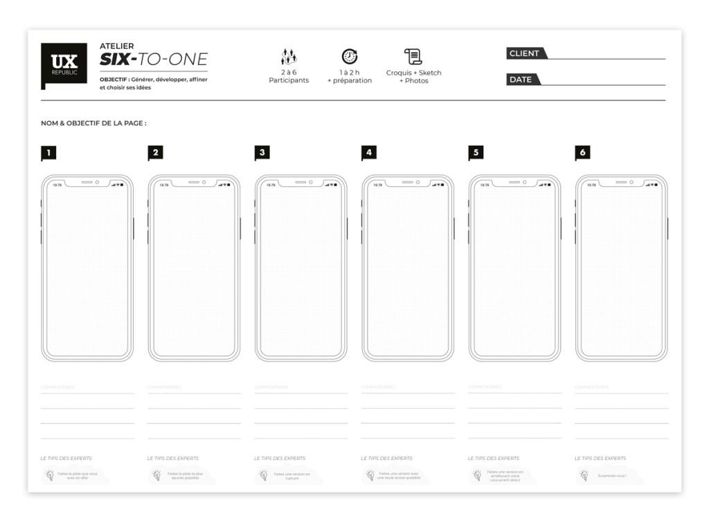 Six Up - Format iOS X