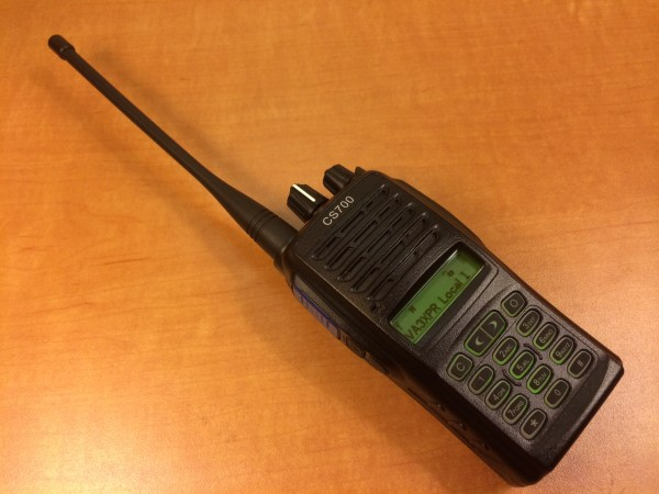 Connect System, CS700, UHF, DMR, digital mobile radio, HT, portable, radio, ham radio, amateur radio, VA3XPR, review, CSI