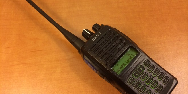 Connect System, CS700, UHF, DMR, digital mobile radio, HT, portable, radio, ham radio, amateur radio, VA3XPR, review