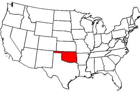 oklahoma maps map of oklahoma