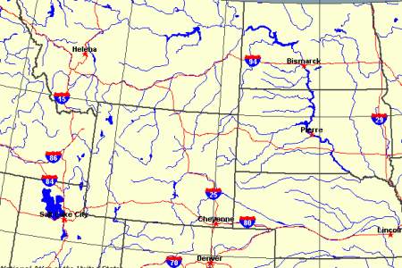 wisconsin map wyoming map united states map earthquake