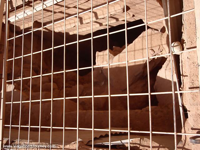 archaeology excavation petra jordan