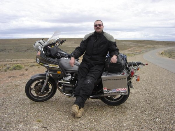 Motorcycle Bob in Argentina