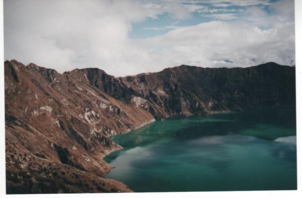 Volcan Quilatoa, Ecuador, 2001