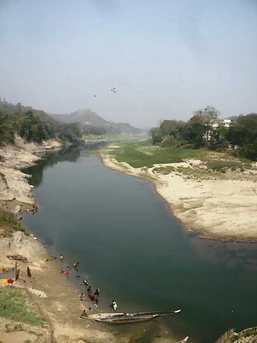 Sangu river, near the Burmese border