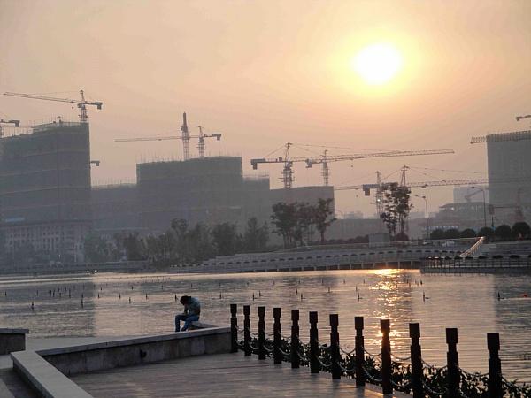 Meixi Lake Ecocity. Image: Nick Holdstock.