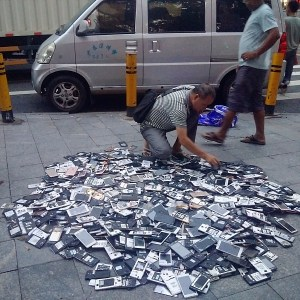 Shenzhen used electronics parts market