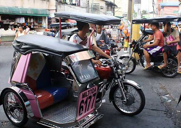 Trike with Philippines flag