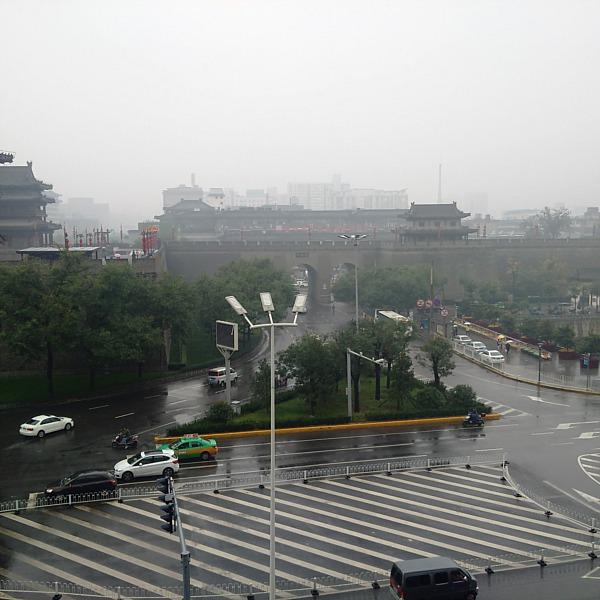 Xian east gate