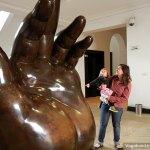 Big Botero Hand