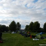 Camping at Reykjavik