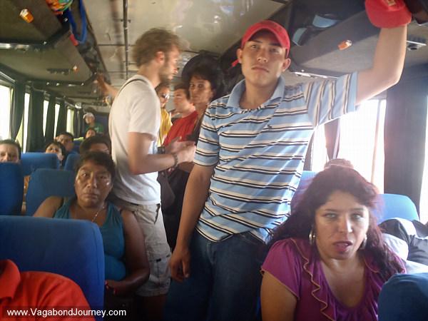 crowded bus