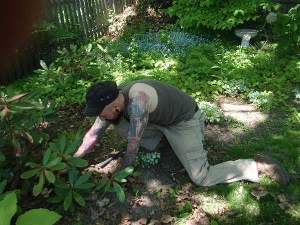 Working as a gardener in Maine