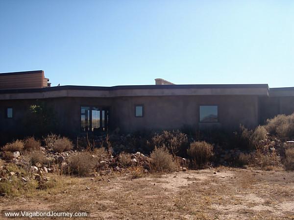 New Adobe house in Arizona