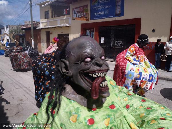 San Cristobal Mexico La Merced Festival