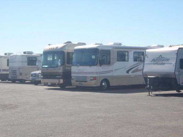Motor homes in Arizona