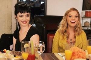 Chloe and June happy friendship