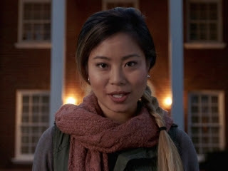 "Michelle Ang as Mia, the PhD student in charge of the ""documentary"""