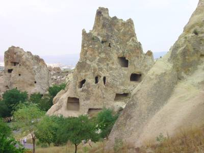 Turkey, Cappadocia, Goreme, Goreme Open Air Museum, Rock Cut Church