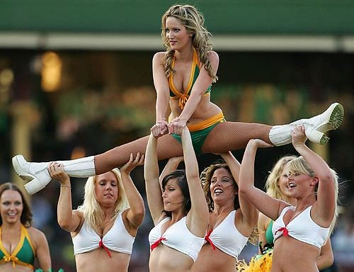 cheap flights with cheerleaders