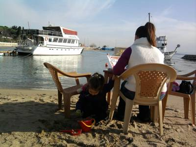 Kadikoy Beach Marmara Sea
