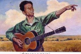 Vagabond Folk Singer – Woodie Guthrie