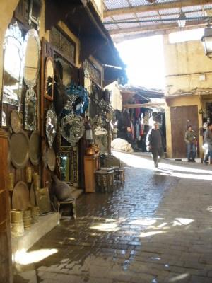 Exploring the Fez medina