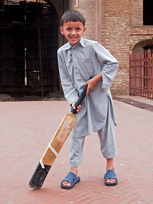 Pakistan Cricket Boy