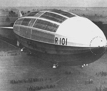 British Airship R101